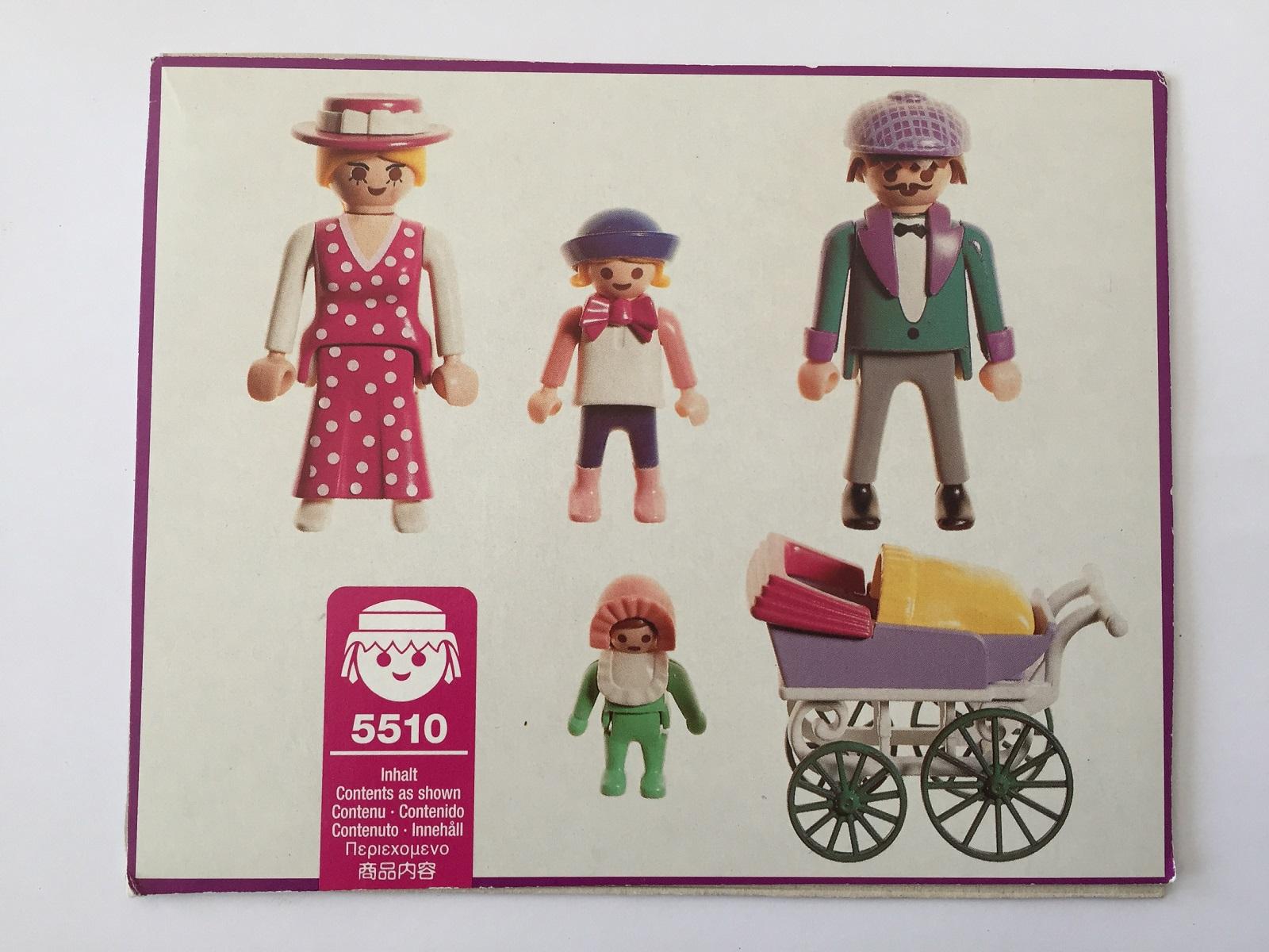 pièce détachée Playmobil 5510 Victorian la famille