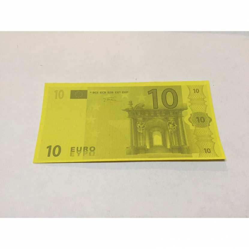 billet de 10 euros pièce détachée jeu de société monopoly anti-monopoly