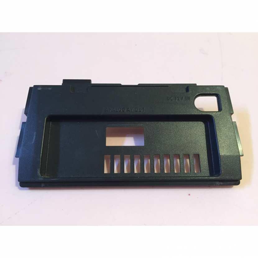 cache arrière pièce détachée pour console de jeu de marque Nintendo de type Gamecube référence DOL-101 JPN version japonaise de couleur noir