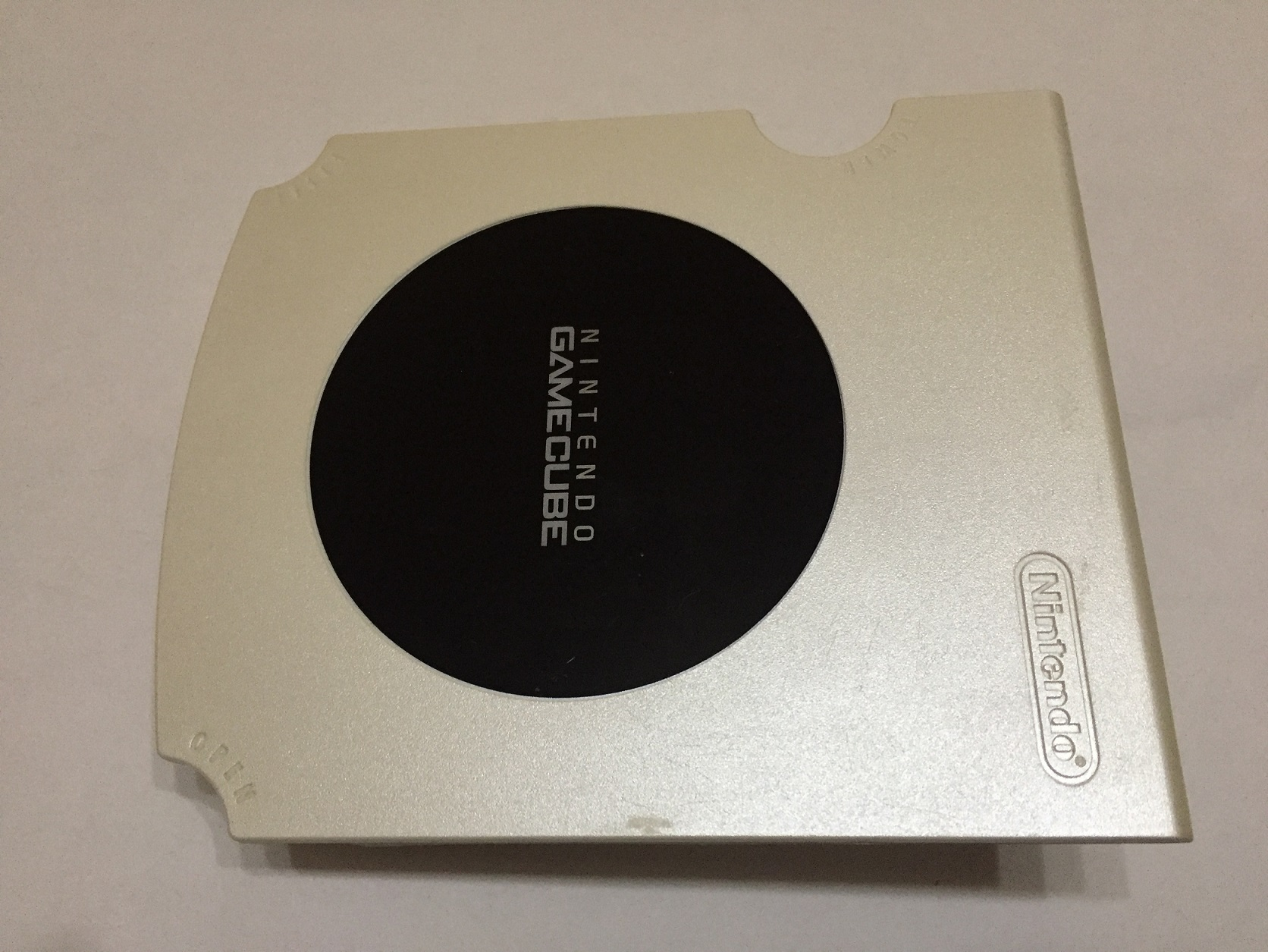 Capot supérieur Gamecube Blanc perle DOL-101