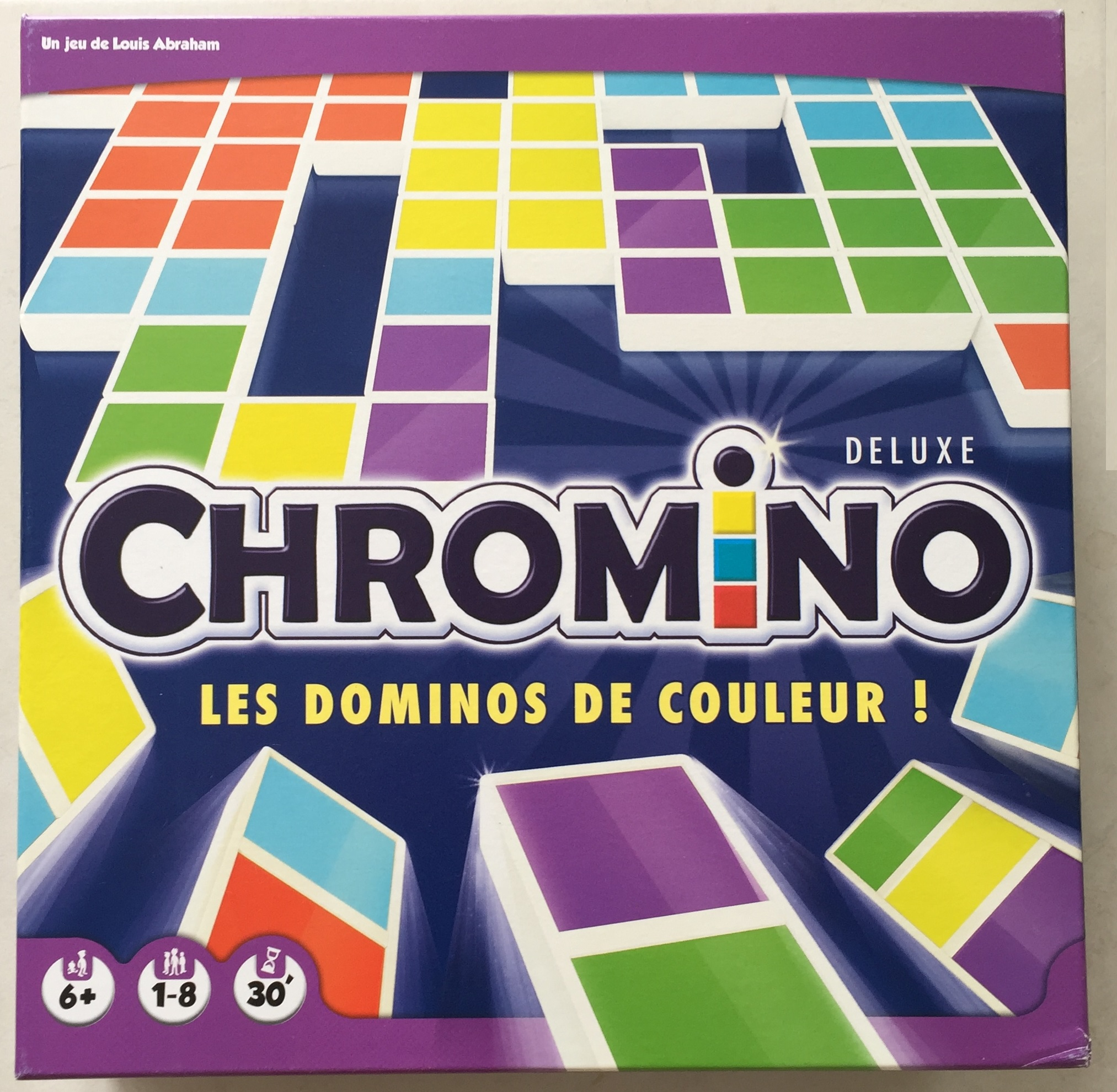CHROMINO DELUXE LES DOMINOS DE COULEUR