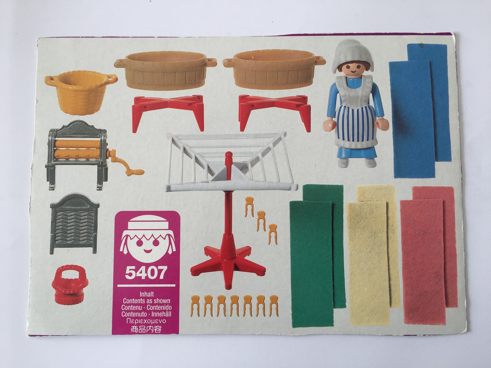boite playmobil 5407 victorian lingere maison 1900