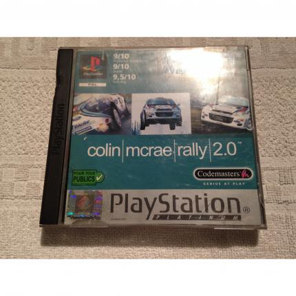 COLIN MCRAE RALLY 2.0 PLATINUM JEU COMPLET PS1 PLAYSTATION 1