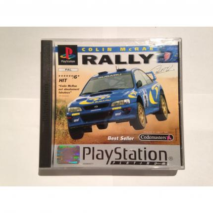 COLIN MCRAE RALLY PLATINUM JEU COMPLET PS1 PLAYSTATION 1