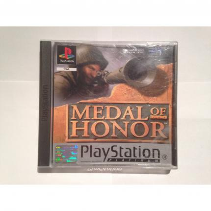 MEDAL OF HONOR PLATINUM JEU COMPLET PS1 PLAYSTATION 1