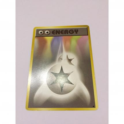 Carte pokémon japonaise pocket monsters double Energie incolore peu commune set de base wizard