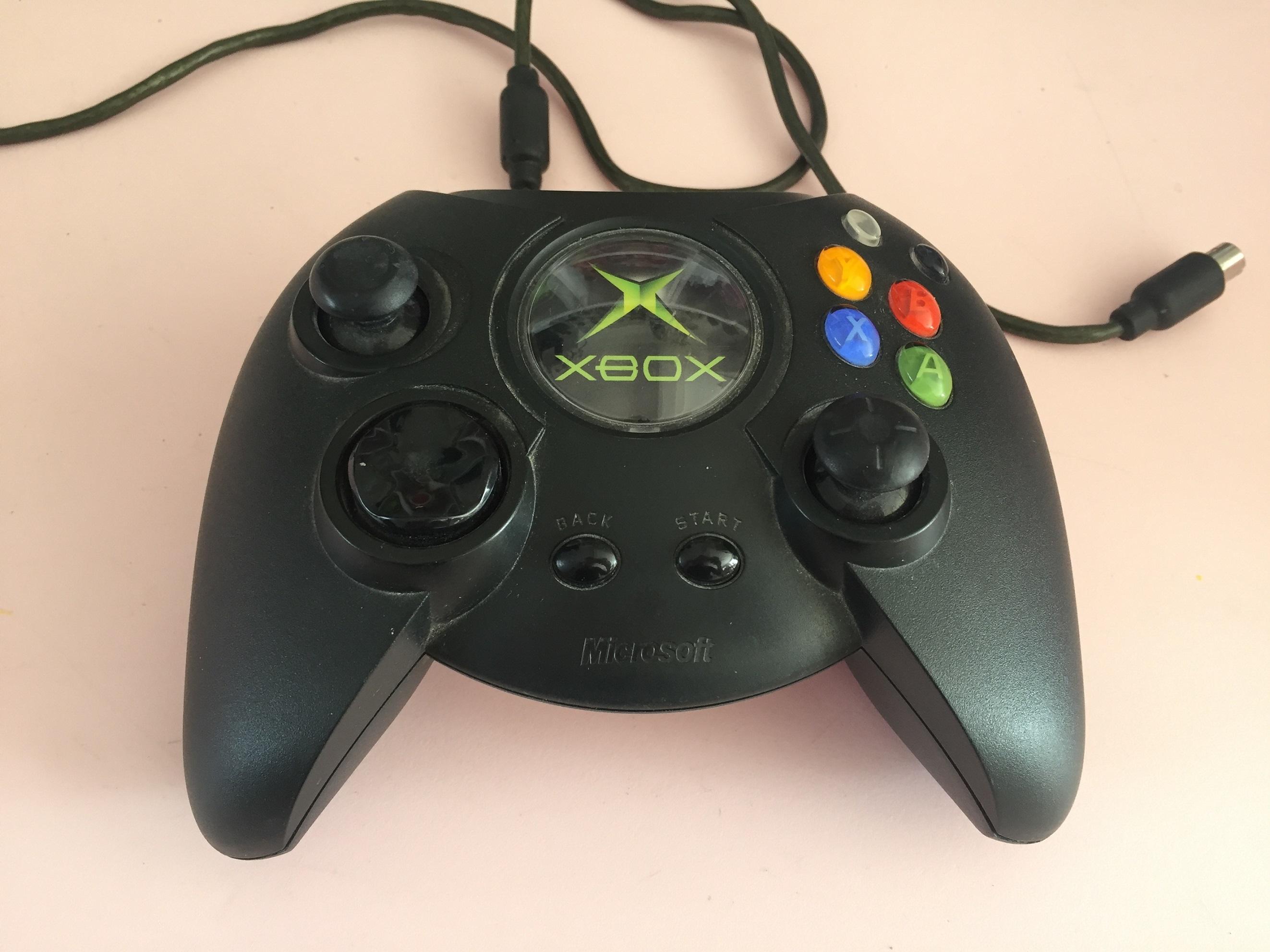 Manette controller X08-17160 console microsoft xbox 1ère génération