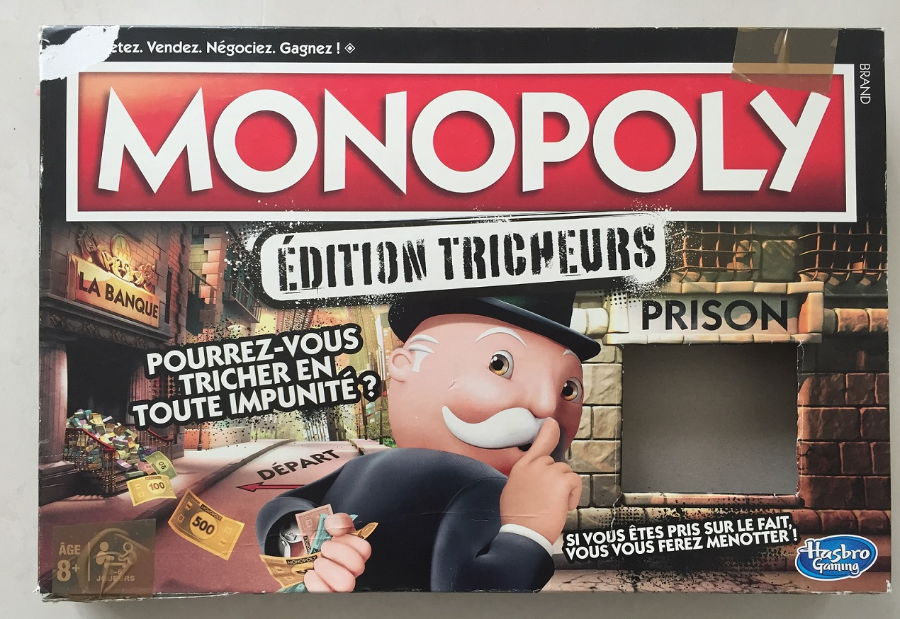MONOPOLY EDITION TRICHEURS HASBRO GAMING