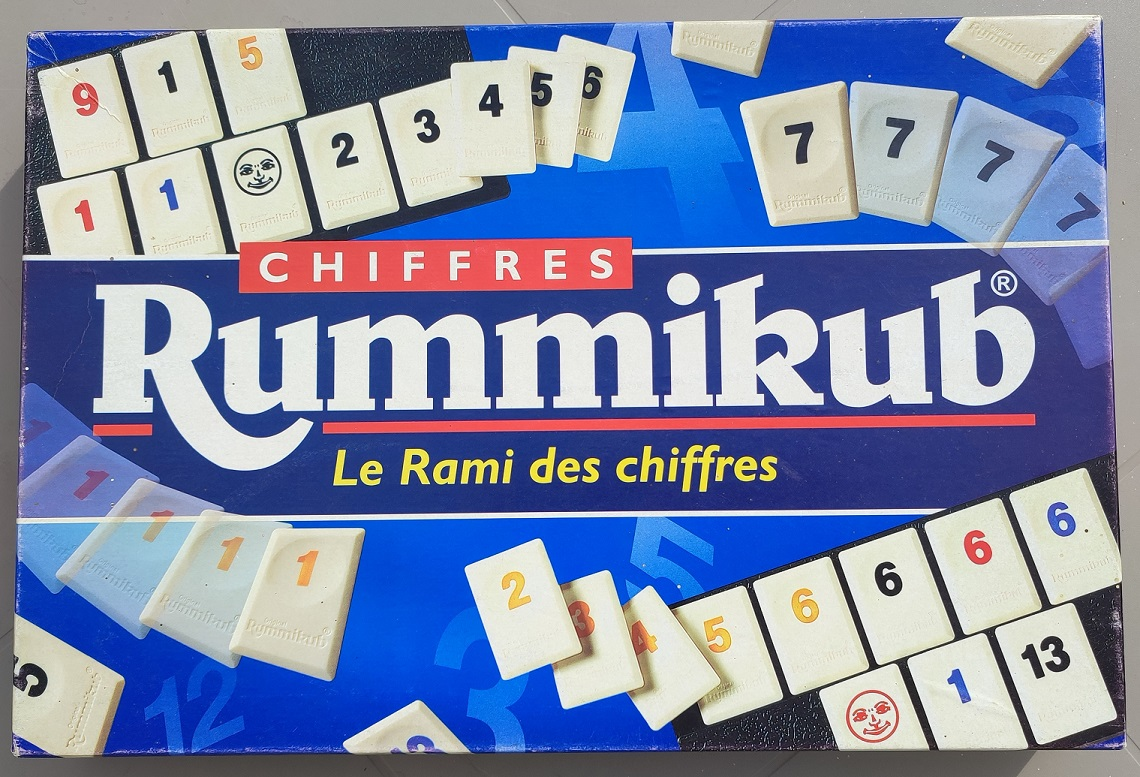 RUMMIKUB LE RAMI DES CHIFFRES 1996 HASBRO