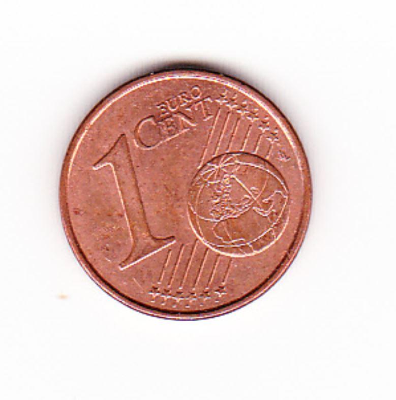 Pièce de monnaie 1 cent centimes euro