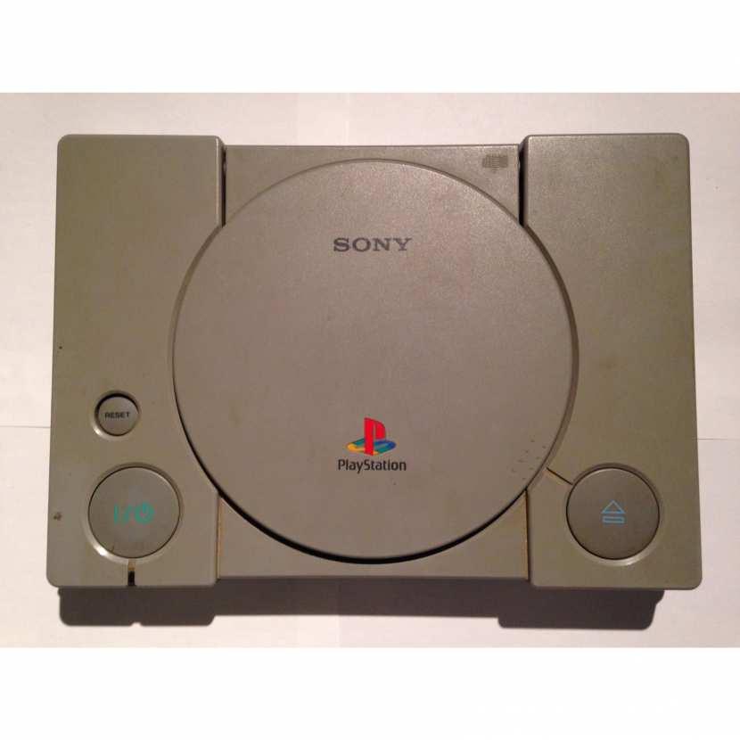 Plasturgie coque supérieur pièce détachée pour console de jeu de marque Sony de type PS1 Playstation 1 référence SCPH-7002