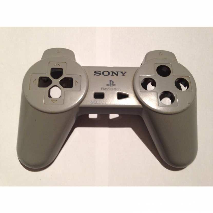 Plasturgie coque supérieur pièce détachée pour manette de console de jeu de marque sony type Playstation PS1 PS2 référence SCPH-1080