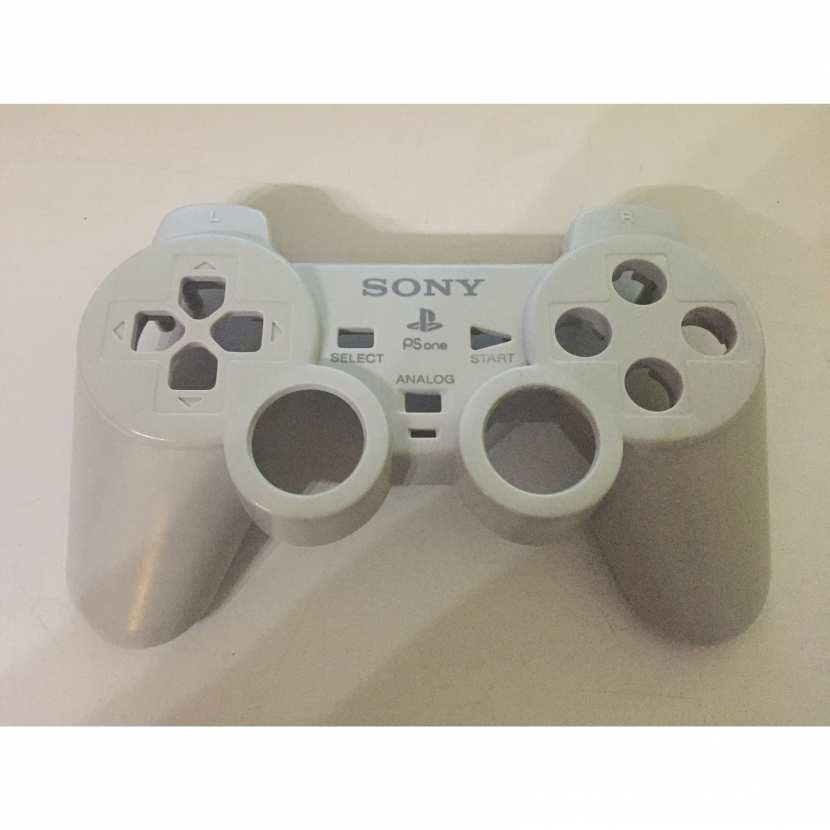Plasturgie coque supérieur pièce détachée pour manette de console de jeu de marque Sony type SCPH-110 Playstation 1 PS1 PS2