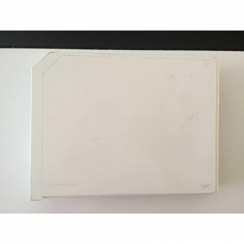 plasturgie supérieur coque du dessus pièce détachée console de jeu de marque nintendo type wii reference RVL-001 de couleur blanche