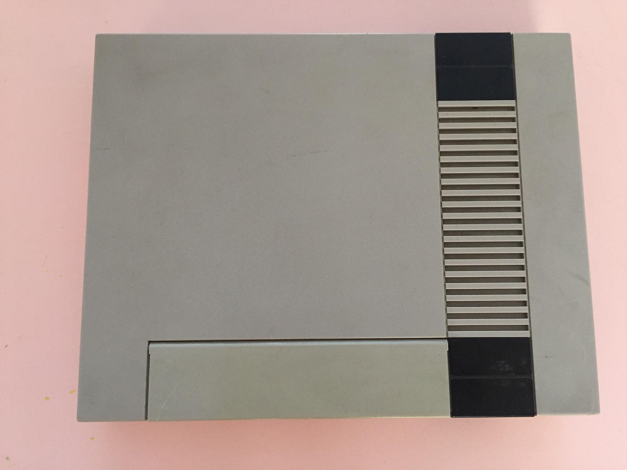 Plasturgie coque supérieur pièce détachée console de jeu nintendo nes nese-001 fra