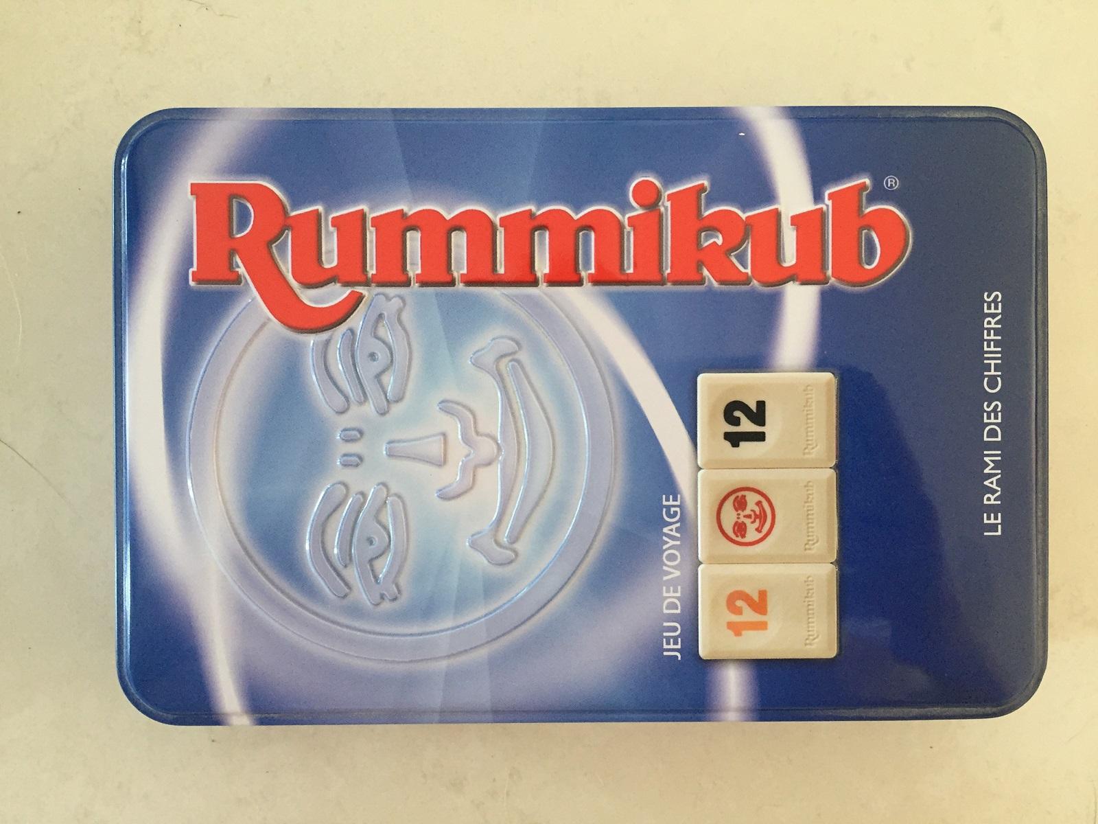 RUMMIKUB LE RAMI DES CHIFFRES 2001 HASBRO
